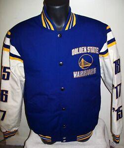 GOLDEN STATE WARRIORS 6 TIME NBA FINALS CHAMPIONS Jacket   M L XL