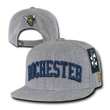 University of Rochester Yellowjackets NCAA Flat Bill Snapback Baseball Cap Hat