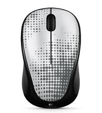 Logitech M317 Wireless Mouse - Perfectly Pewter w/unifying receiver PC Mac