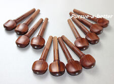 4/4 violin Fittings ,20pcs rosewood pegs ,beauty  decoration Violin Accessories
