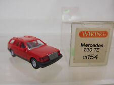 eso-3878Wiking 1:87 Mercedes 230 TE rot sehr guter Zustand