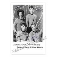 aus Star Trek  Autogramm  McCoy 1920–1999 A1 DeForest Kelley // Dr