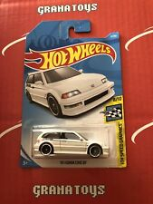 90 Honda Civic EF #4 Speed Graphics 2019 Hot Wheels