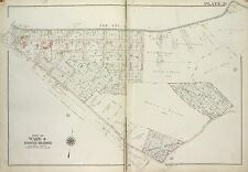 1917 STATEN ISLAND, NEW YORK, RICHMOND COUNTY JAIL, P.S. 10 & 28, COPY ATLAS MAP