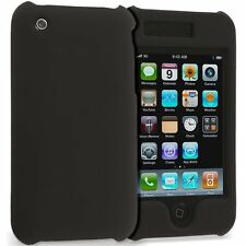 Hard Rubberized Case for iPhone 3G / 3GS - Black