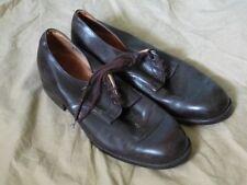 paire de chaussures de sortie pointure 43 cuir brun type officier US ww2