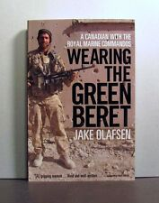 Canadian with Royal Marine Commandos, Wearing Green Beret, Afghanistan, Military
