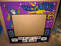 NOS Monitor Bezel  Arcade Game 8 liner Cherry Master POG Fruit Wizard