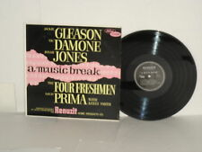 RENUZIT Rare VA Four Freshmen Louis Prima Keely Smith Jackie Gleason Jonah Jones