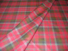 Macnaughton Weathered Old Colori Tartan In Tessuto 100% pura lana nuova PLAID CHECK