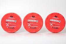 3x Morfose Ossion Ultra Aqua Hair Gel Wax 5 Rotefrüchte duft 3x 200ml Haarwachs