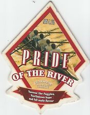WIGAN BREWHOUSE - PRIDE OF THE RIVER (4) - PUMP CLIP FRONT