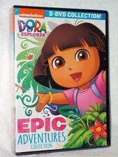Dora The Explorer: Epic Adventures Collection (DVD, 2019, 8-Disc) NEW animated