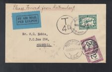 South West Africa Air Mail Cover 1931 Tax