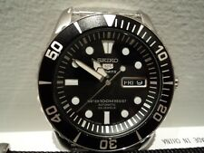 Seiko Sea Urchin SNZF17J1 on Striped Nato - Made in Japan