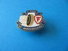 Firestone Tyres Pin badge, VGC. Enamel.  30 Anniversaire.