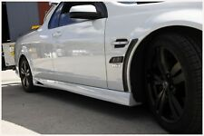 PAIR OF VENT SIDE SKIRTS FOR VE VF HOLDEN UTE , S/SS/SV6/SSV