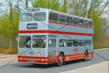 BUS PHOTO OF A SILVER STAR PHOTOGRAPH PICTURE LEYLAND ATLANTEAN