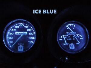 Gauge Cluster LED Dashboard Bulbs Ice Blue For Oldsmobile 73 77 Cutlass 442