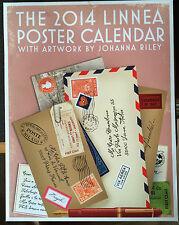 The 2014 Linnea Poster Calendar by Johanna Riley scrap booking card craft summer