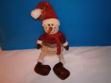 Christmas Snowman Shelf Sitter, Nwt