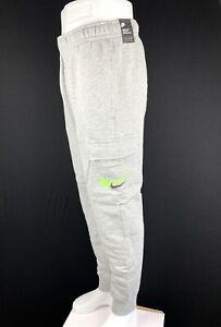 Nike NSW Double Swoosh Cargo Fleece Sweatpants Joggers Size Medium