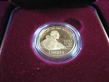 UNITED STATES  -  FRANKLIN D. ROOSEVELT - 1997W $5 GOLD PROOF COIN  (ergc2)