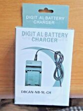 Canon Camera ~ Digital Travel Battery Charger ~ DBCAN-NB-9L-CH - MIB*