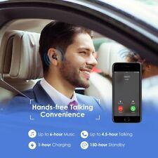 Earpiece Ear Bluetooth Earbud Wireless Earphone Mini Stereo 4.1