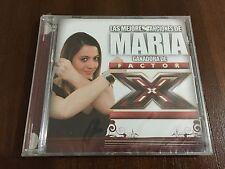 MARIA GANADORA DE FACTOR X  - CD 11 TRACKS - 2007 - NEW SEALED NUEVO SOMY BMG