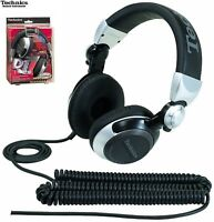 Technics RP-DJ1210 Plateado Dj Profesional Plegable Auriculares Original / Nuevo