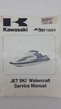 Kawasaki JET SKI WATERCRAFT 750SX Factory Service Manual. 4th ed., January 1997