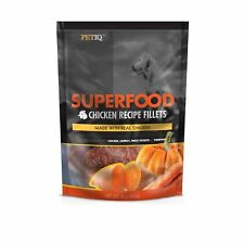 PetIQ Superfood Chicken Fillet Recipe for Dogs with Carrot, Sweet Potato