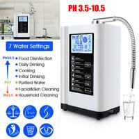 US FAST SHIP LCD Touch Water Ionizer & Purifier Machine Alkaline Acid PH3.5-10.5