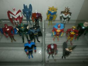DC Comics Universe Justice League Unlimited lot - Superman Luthor Vigilante