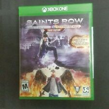 Replacement Case (NO  GAME) SAINTS ROW GAT OUT OF HELL FIRST EDITION XBOX ONE 1