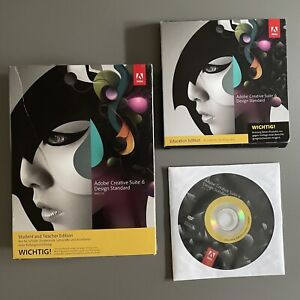 Adobe Creative Suite 6 Design Standard deutsch Macintosh Vollversion CS6