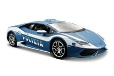 LAMBORGHINI HURACAN 1/24 Police Die Cast Model Car Metal Models Cars Miniatures