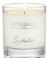 The White Company Seychelles Candle NEW In Sealed Box