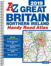 Great Britain Handy Road Atlas 2019 (A5 Spiral) by A-Z Maps