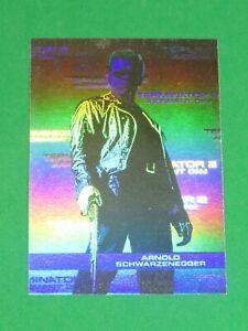 1991 Impel Terminator 2 JUDGMENT DAY INSERT Hologram Card! Arnold Schwarzenegger