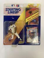 1992 MLB IVAN CALDERON STARTING LINEUP