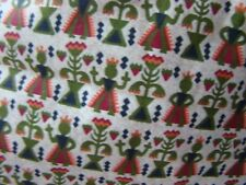 "VINTAGE 1950'S HEAVY COTTON CURTAIN FABRIC 4 YARDS BY 46"" WIDE NEVER USES"