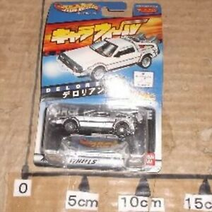 HOT WHEELS Charawheels Delorean I 1 Japan chara wheels Rare NEW