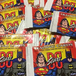 20 Packs DC STARS by Skybox Trading Cards 1994 Justice League Batman Superman