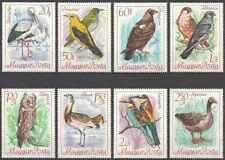Timbres Oiseaux Hongrie 1956/63 ** lot 28081