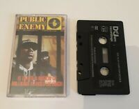 PUBLIC ENEMY IT TAKES A NATION OF MILLIONS TO HOLD US CASSETTE TAPE DEF JAM 1988