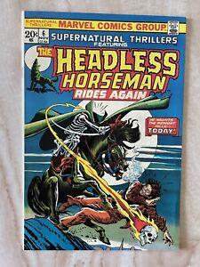SUPERNATURAL THRILLERS-THE HEADLESS HORSEMAN-BRONZE-1973 NM- 9.2 FREE SHIPPING!!