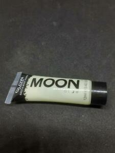 Moon Glow in the Dark face & Body Paint 12ml Invisible Free P&P to UK
