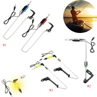 Fish Bite Alarm LED Illuminated Indicators Chain Hanger Fishing Tool Tackle Gear